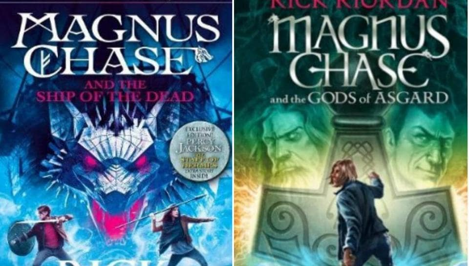 Magnus Chase,Ship of the Dead,Rick Riordan