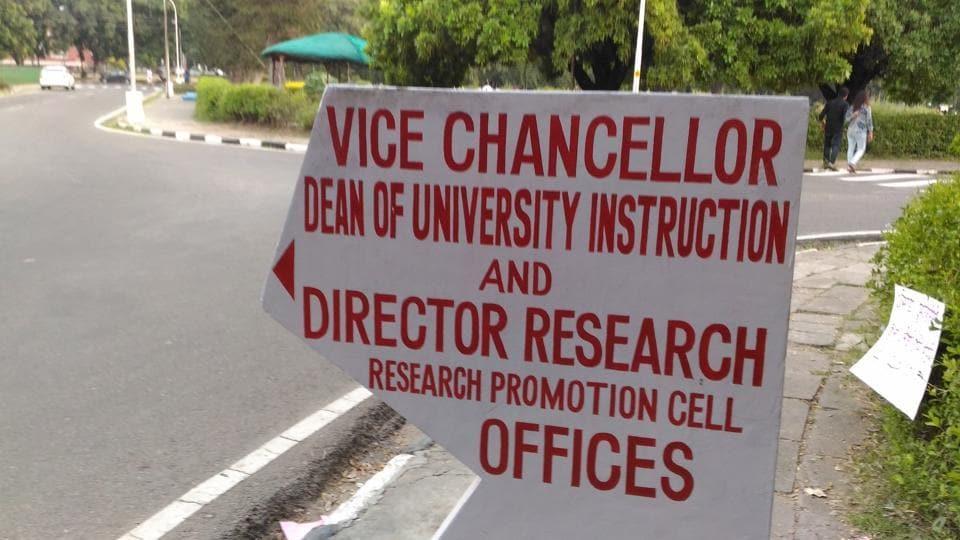 Punjabi language,Panjab University,Dharamvira Gandhi