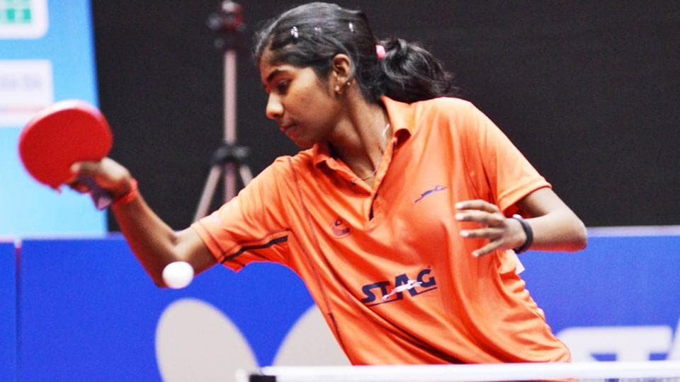 India's Selena Selvakumar completed a golden sweep in the Egypt Junior and Cadet table tennis Open.