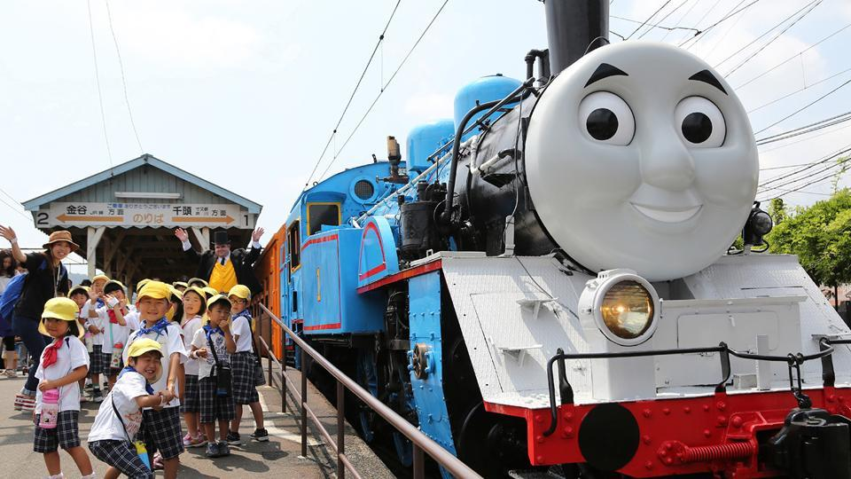 """In the Thomas the Tank Engine animated series, Thomas will leave the fictional island of Sodor in the Irish Sea for the first time to """"experience new cultures and countries,"""" said Christopher Keenan, of Mattel Creations."""