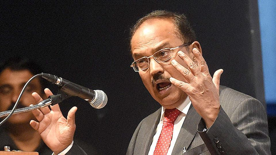 File photo of National Security Adviser Ajit Doval.