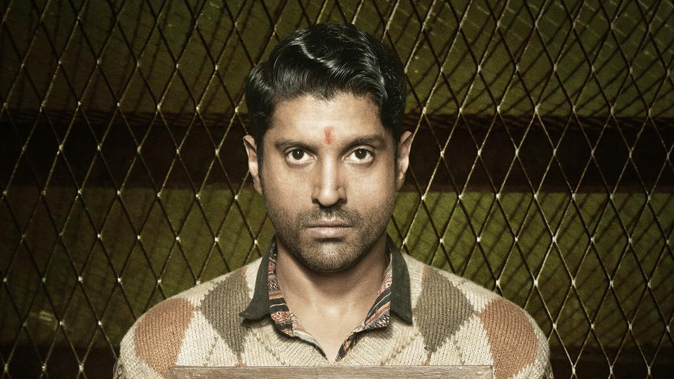Farhan Akhtar played a jail inmate in Lucknow Central.
