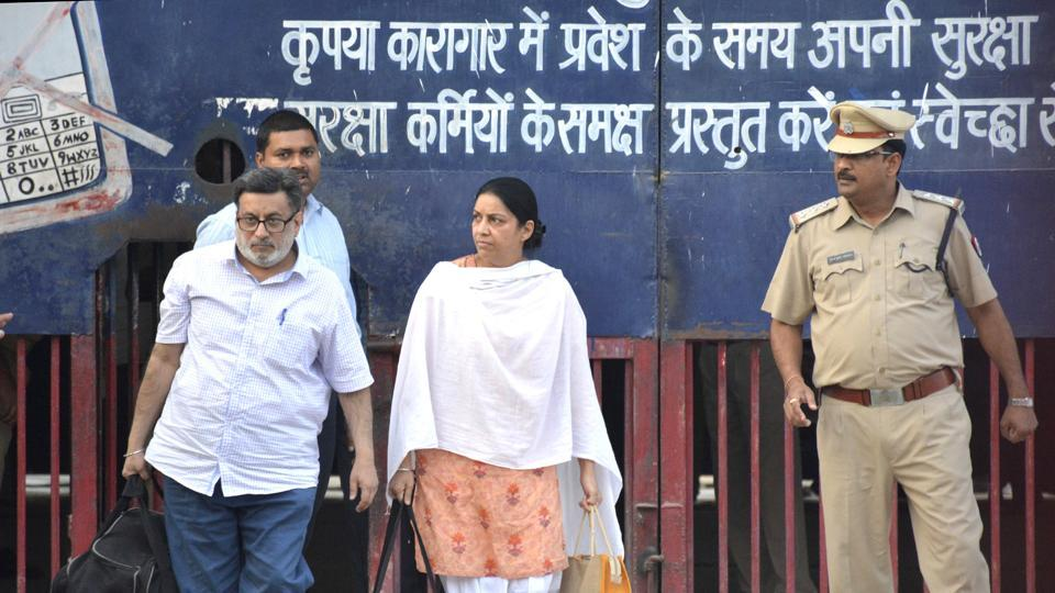 Rajesh and  Nupur Talwar come out of Dasna Jail, four years after they were sentenced to life imprisonment in the Aarushi-Hemraj murders case. The couple was acquitted by Allahabad HCon Thursday.