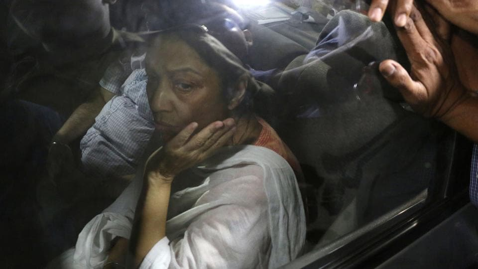 Rajesh and Nupur Talwar reached Jalvayu Vihar in Noida after they were released from Dasna Jail. Nupur's parents live in Jalvayu Vihar, the same locality in which the Talwars have a flat where Aarushi and Hemraj were murdered.