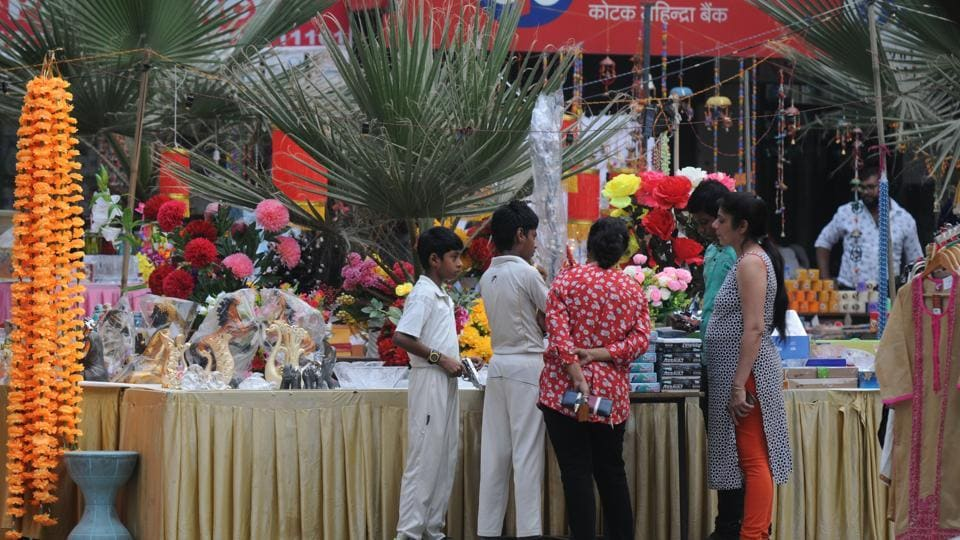 At most of the Diwali melas organised across the city this year, there were few China-made goods to be seen.