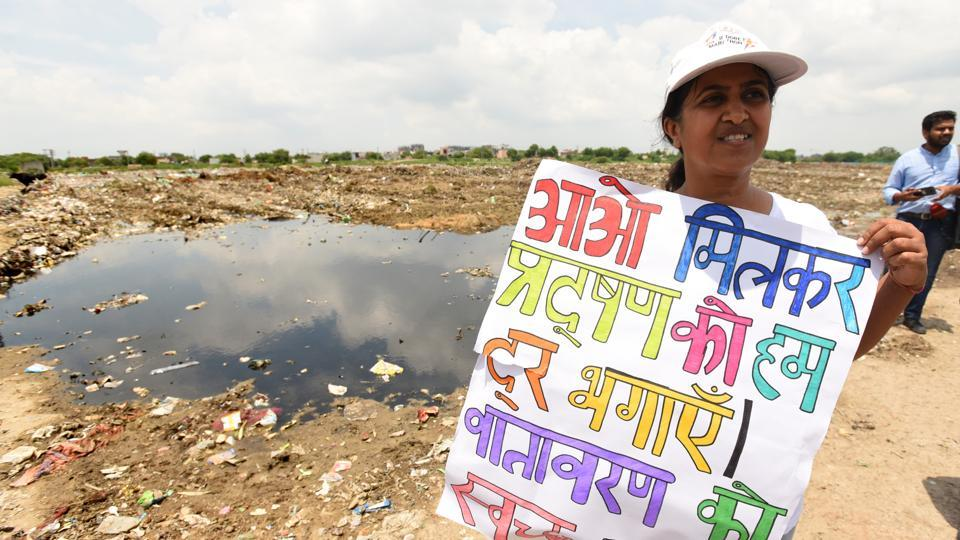 Residents of Sector 137 had filed a petition with the NGT, objecting to the dumping of waste and seeking an end to such activities due to health concerns.
