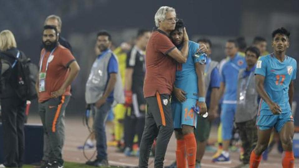 Indian U-17 football team finished without a point at the FIFA U-17 World Cup and was knocked out of the group stages.