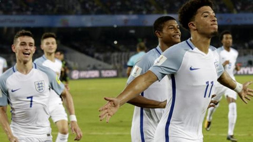 Jadon Sancho will not play in England's FIFA U-17 World Cup Round of 16 match against Japan.