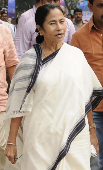 Mamata Banerjee has promised development to the village.