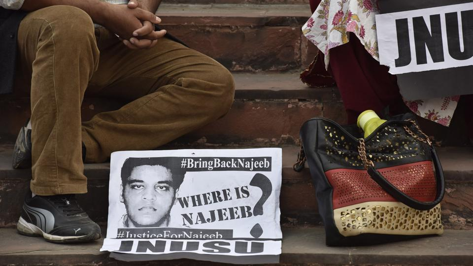 Najeeb Ahmed had gone missing from JNU hostel on October 15, 2016.