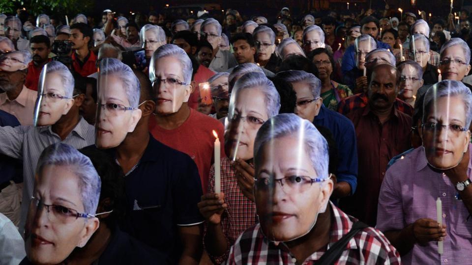 Gauri Lankesh,Govind Pansare,Narendra Achyut Dabholkar