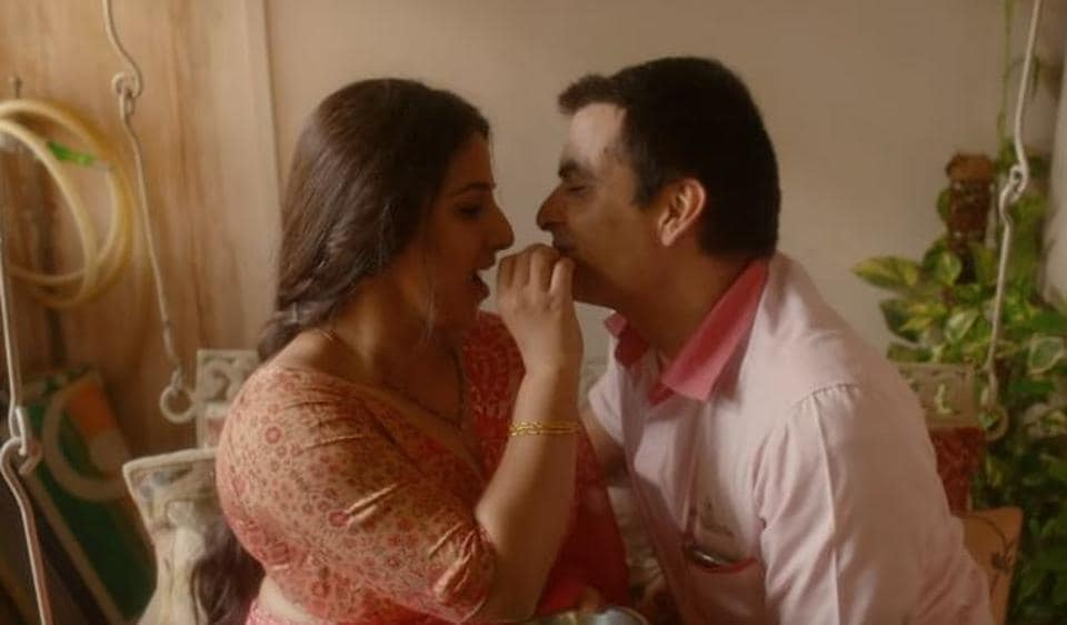 Vidya Balan and Manav Kaul play husband-wife in Tumhari Sulu.