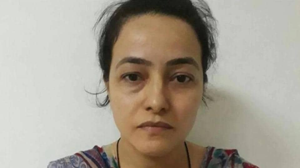 Honeypreet was arrested on October 3 for inciting violence in Panchkula on August 25 after conviction of Ram Rahim by the CBI court here.