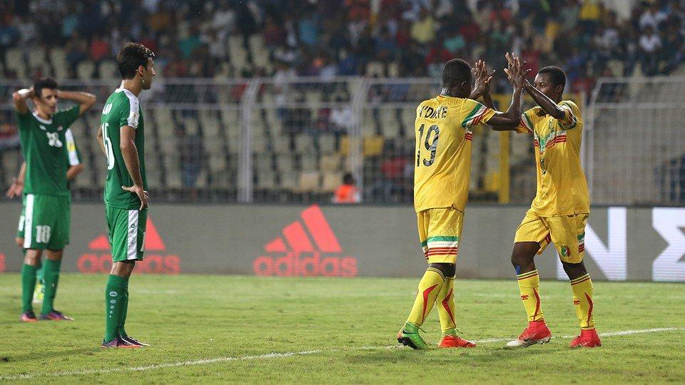 Mali produced a brilliant performance to beat Iraq 5-1. (twitter)