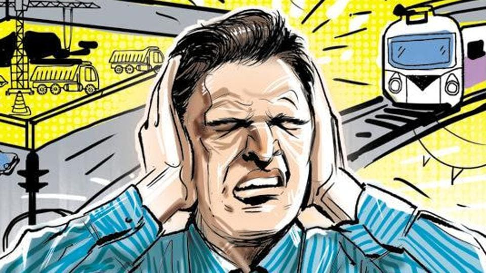 Noise levels up to 70dB are acceptable to the human ear, according to the World Health Organization.