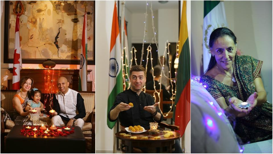 Ambassadors from Mexico, Lithuania, and the high commissioner from Canada share with us their Diwali memories.
