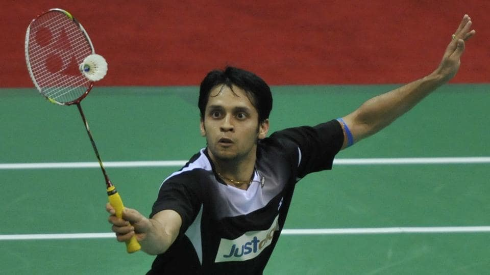 Parupalli Kashyap crashed out of Denmark Open badminton after losing to Takuma Ueda.