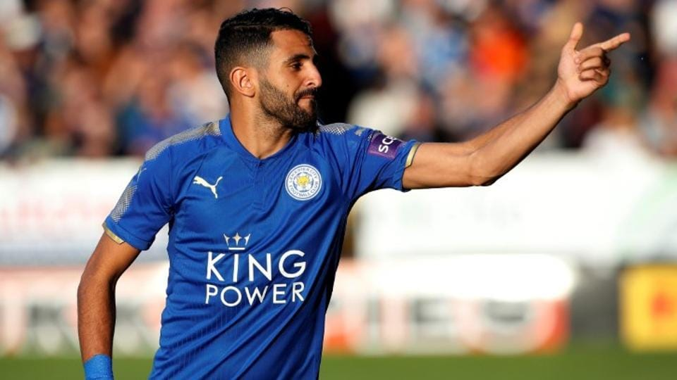 Leicester City's Riyad Mahrez during the English Premier League (EPL) match against West Bromwich Albion.