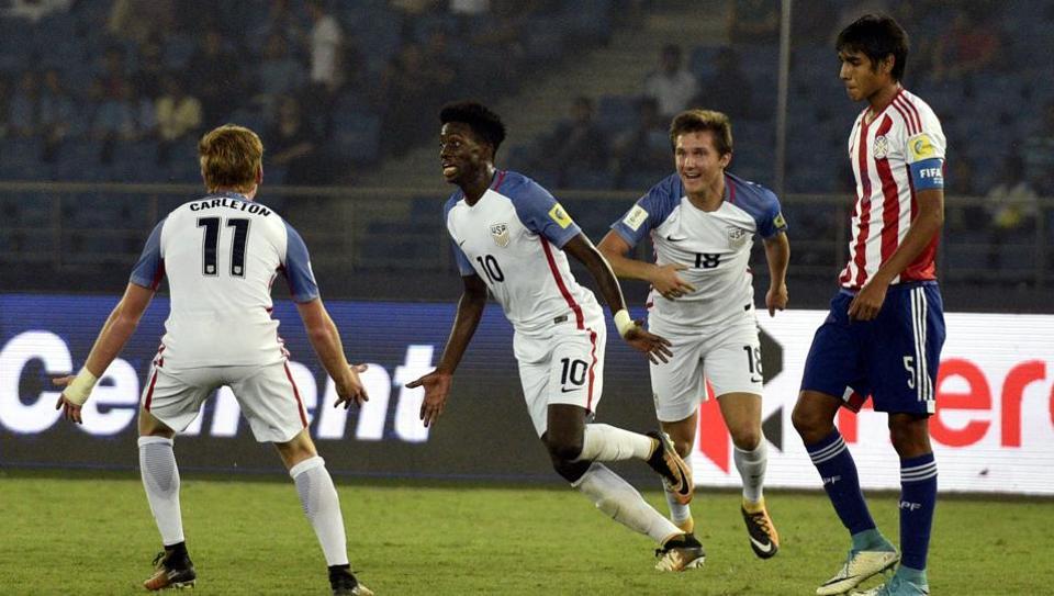 FIFA U-17 World Cup,Tim Weah,George Weah