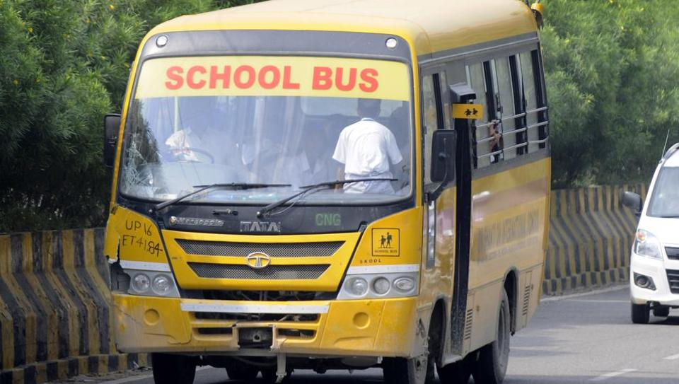 Noida RTO,Noida school buses,Ryan International school