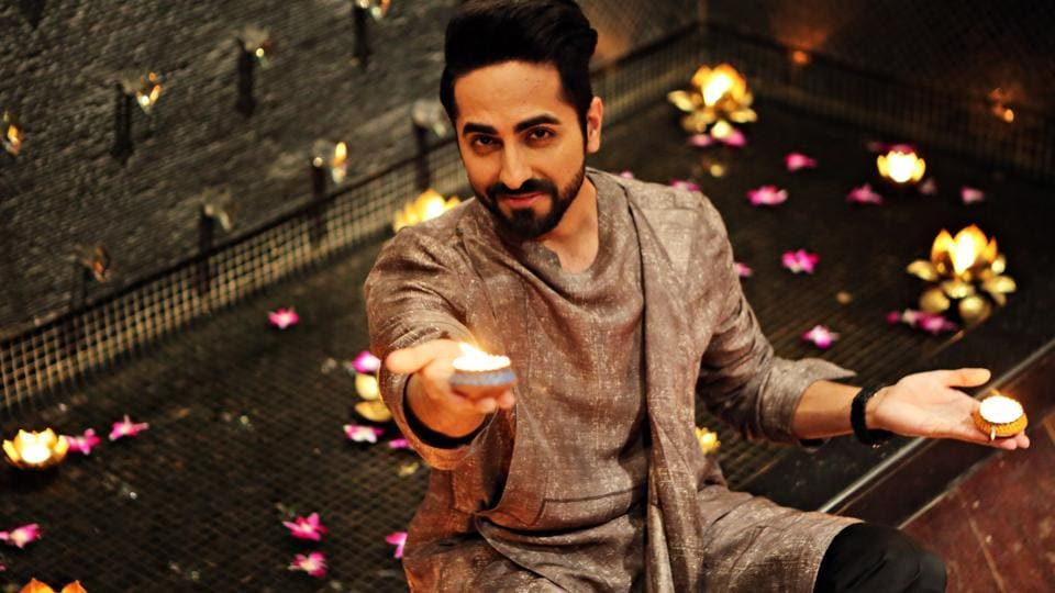 Actor Ayushmann Khurrana has done this exclusive Diwali shoot for Hindustan Times.