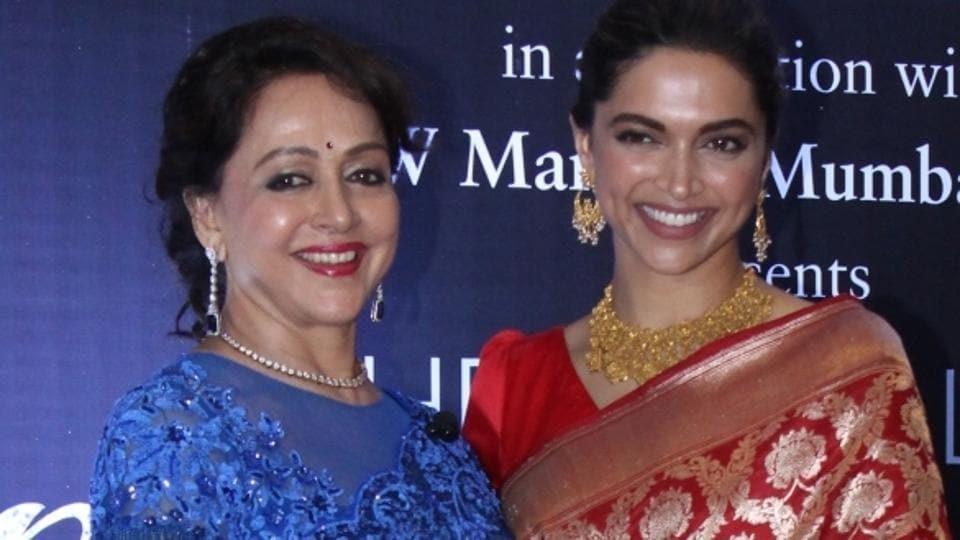 Deepika Padukone,Hema Malini,Deepika Padukone education