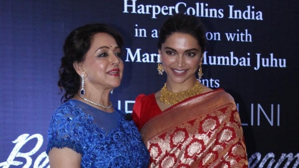 Deepika Padukone,Hema Malini,Dream Girl