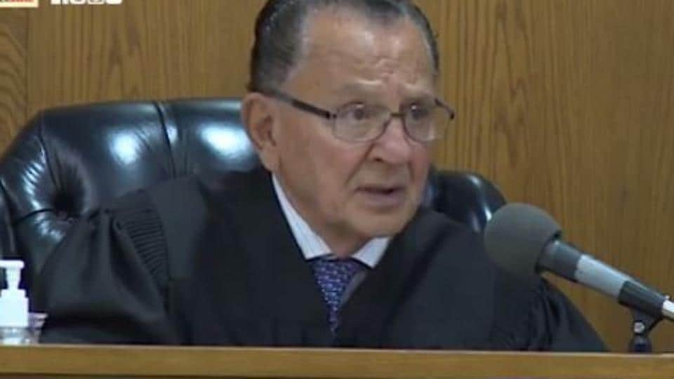A screenshot of Frank Caprio, the American judge winning hearts with his verdicts.