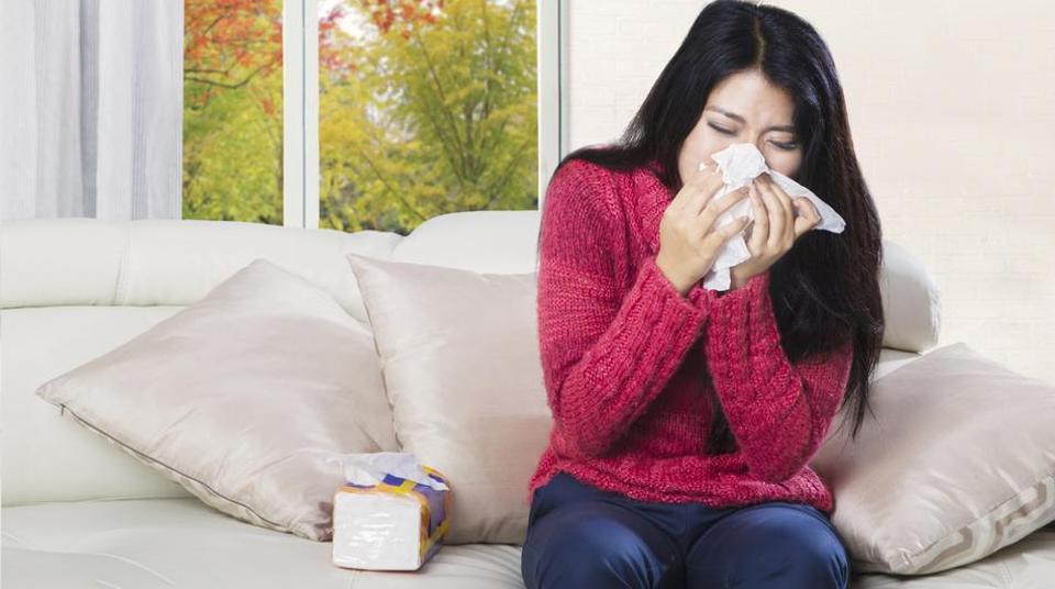 If you are sick with flu symptoms, stay home for at least 24 hours after your fever is gone and only go out for medical care or necessities.