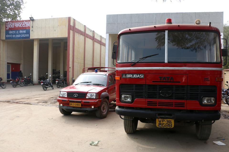 Diwali,Noida,fire