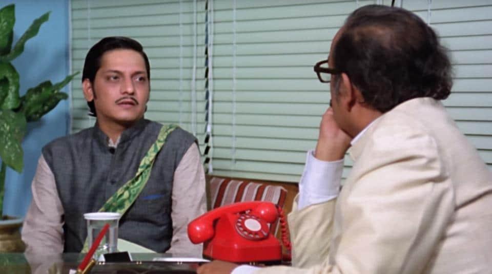 Amol Palekar shines as an unlucky genius in Golmaal.
