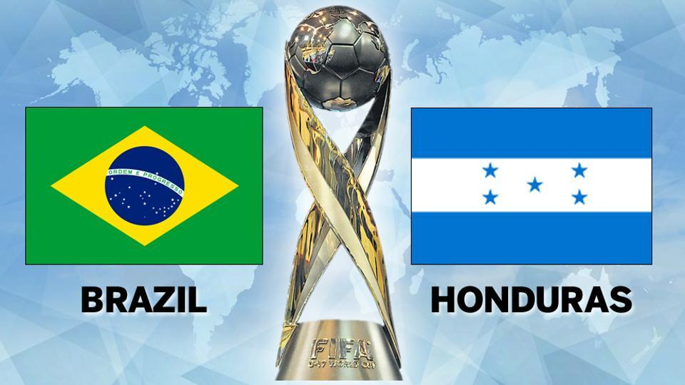 Brazil face Honduras in their pre-quarterfinal match at the FIFA U-17 World Cup in Kochi today.  Get  highlights of Brazil vs Honduras, FIFA U-17 World Cup - Round of 16, here.