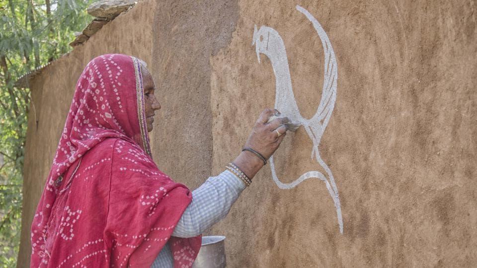 Mandana,Rajasthan,Diwali