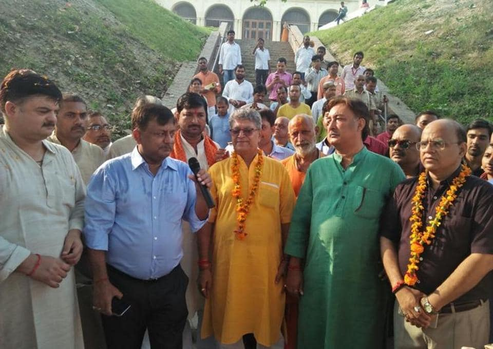 People from all walks of life turned up to be a part of the 'Heritage Walk'- a first of its kind in Ayodhya.