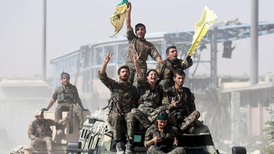 Islamic State,Iraq,SDF