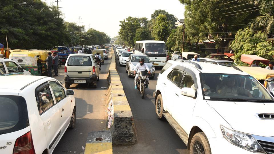 Noida,Diwali,traffic