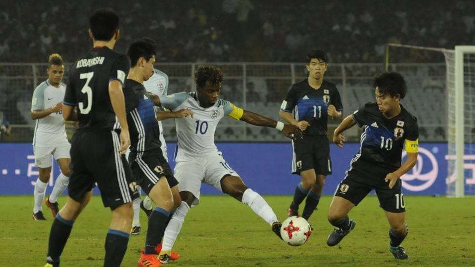 Japan played valiantly against England but lost in penalties in a Round of 16 match at FIFA U-17 World Cup.