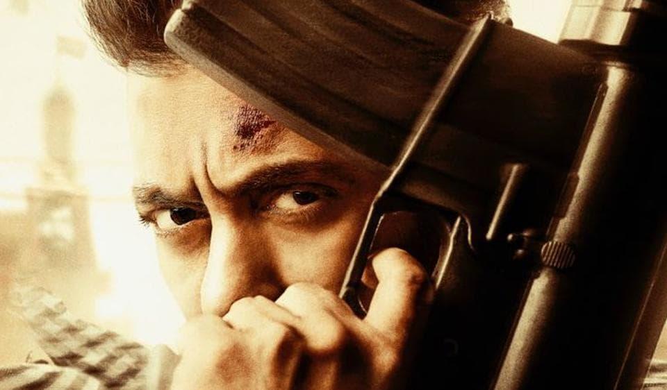 Salman Khan,Tiger Zinda Hai poster,Tiger Zinda Hai