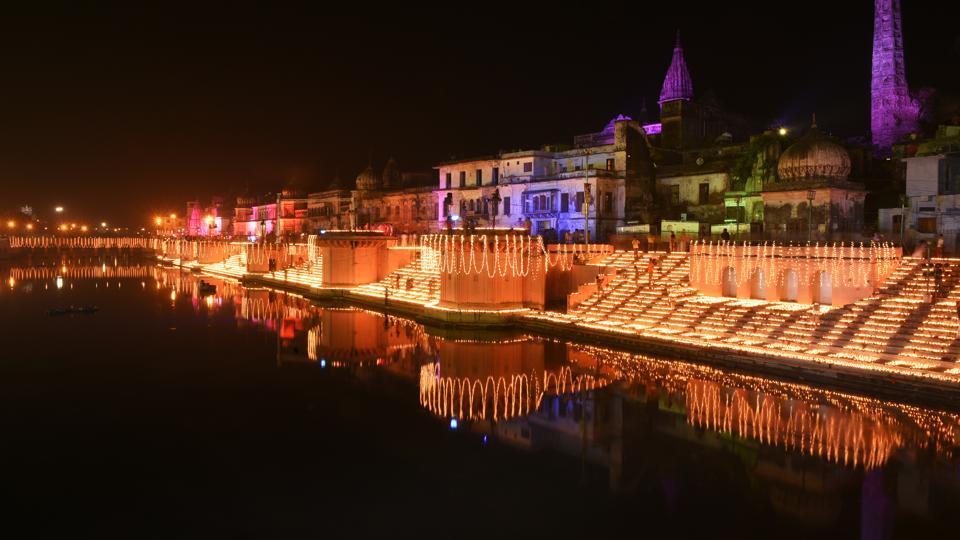 Ayodhya,Guinness World Records,Ram Ki Paidi