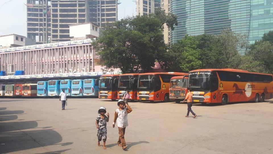 MSRTC STRIKE,MUMBAI BUS STRIKE,MAHARASHTRA BUS STRIKE