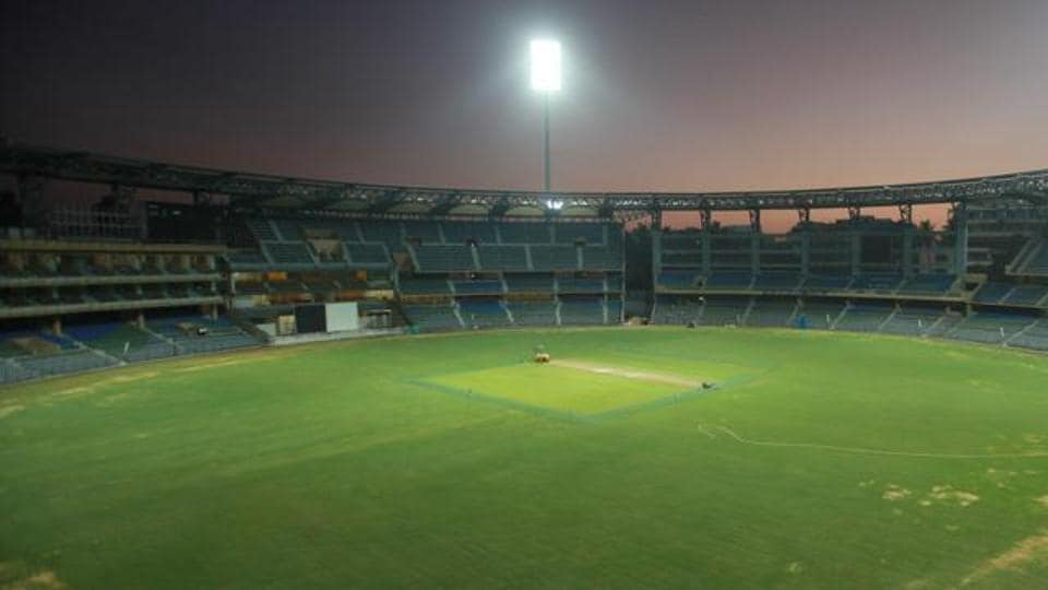 Wankhede stadium in Mumbai.