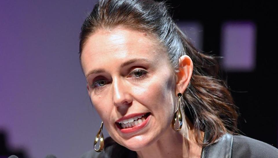 FILE PHOTO: New Zealand's new opposition Labour party leader, Jacinda Ardern, speaks during an event held ahead of the national election at the Te Papa Museum in Wellington, New Zealand August 23, 2017.