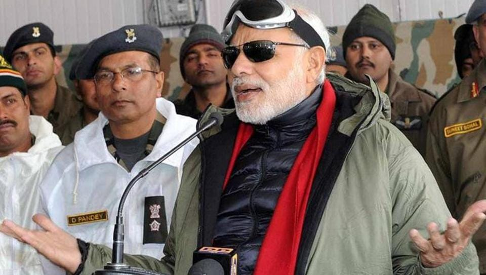 PMModi was in Siachen last year to celebrate Diwali with soldiers.