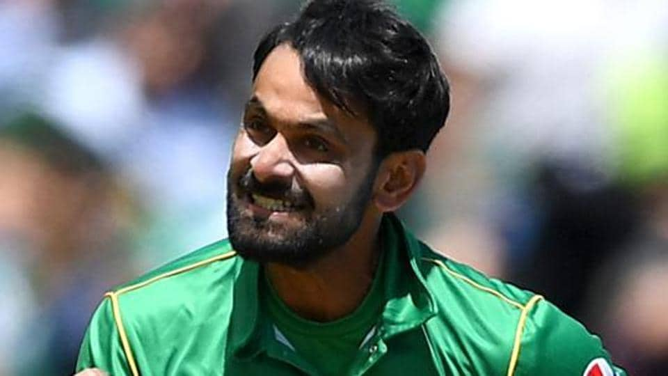 Mohammad Hafeez has been reported for a suspect action two times before this incident.