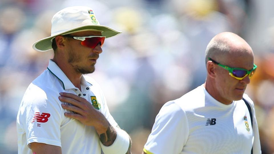 Dale Steyn suffered a shoulder injury during the Perth Test against Australia and he is eyeing a return to cricket during South Africa's domestic T20 league.
