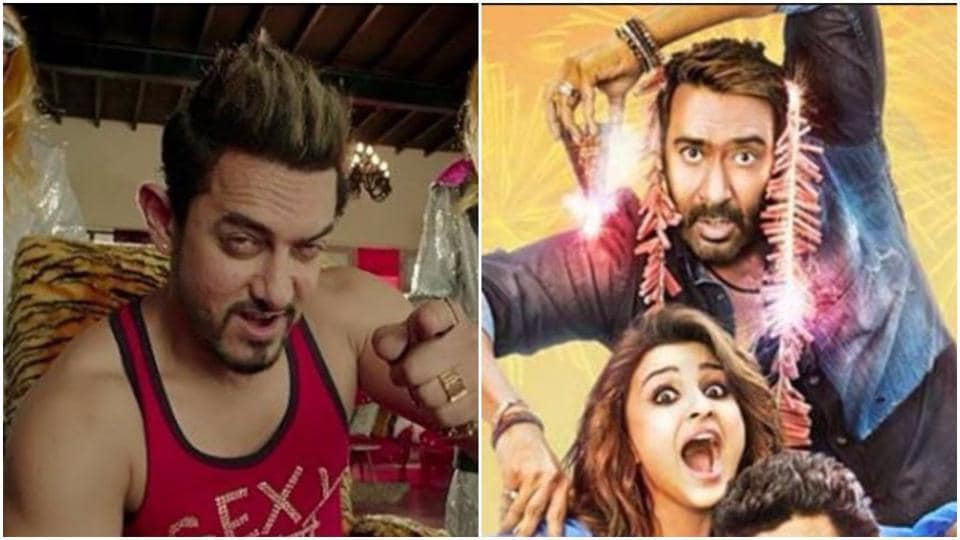 Secret Superstar and Golmaal Again are fighting it out at the box office.