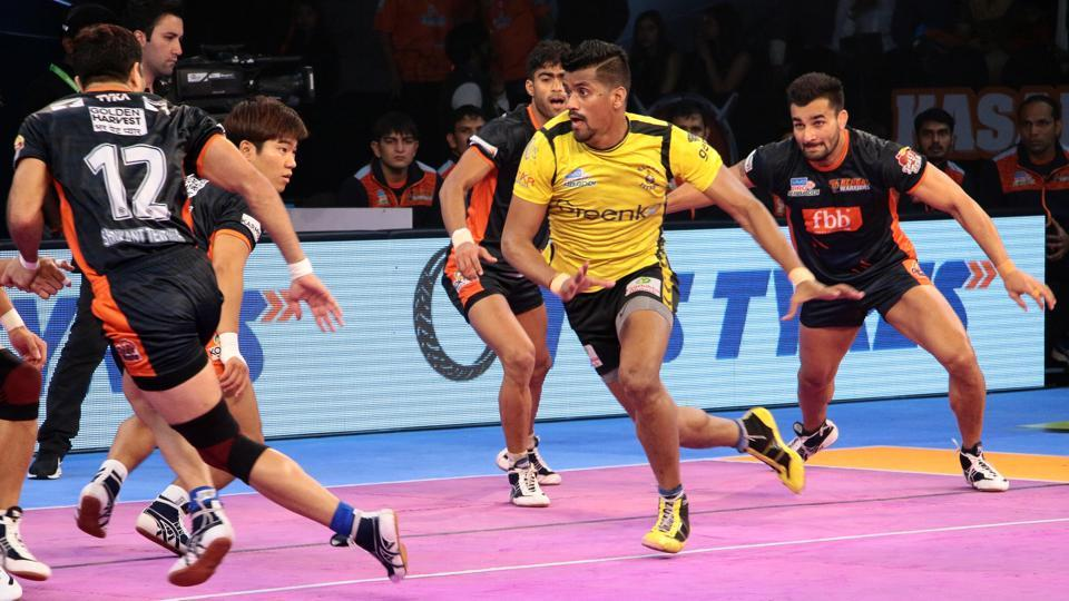 Bengal Warriors and Telugu Titans played out an exciting draw in the Pro Kabaddi League.  Despite this result, Bengal Warriors topped Zone B.