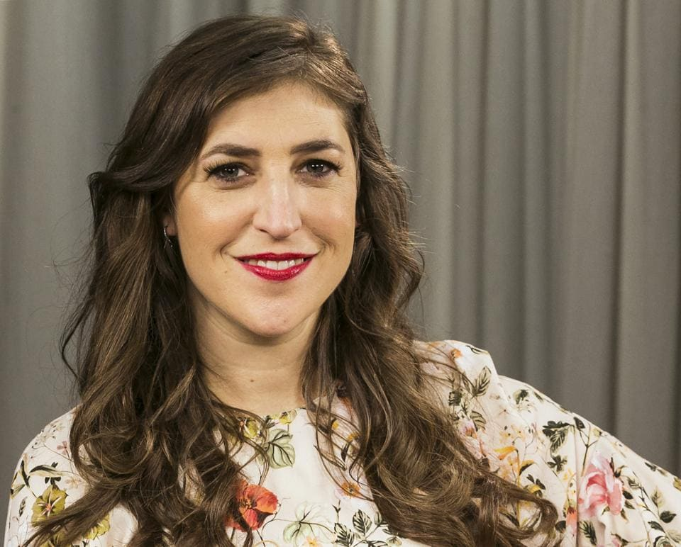 Mayim Bialik discussed a recent opinion piece that drew accusations that she was blaming accusers of Harvey Weinstein.