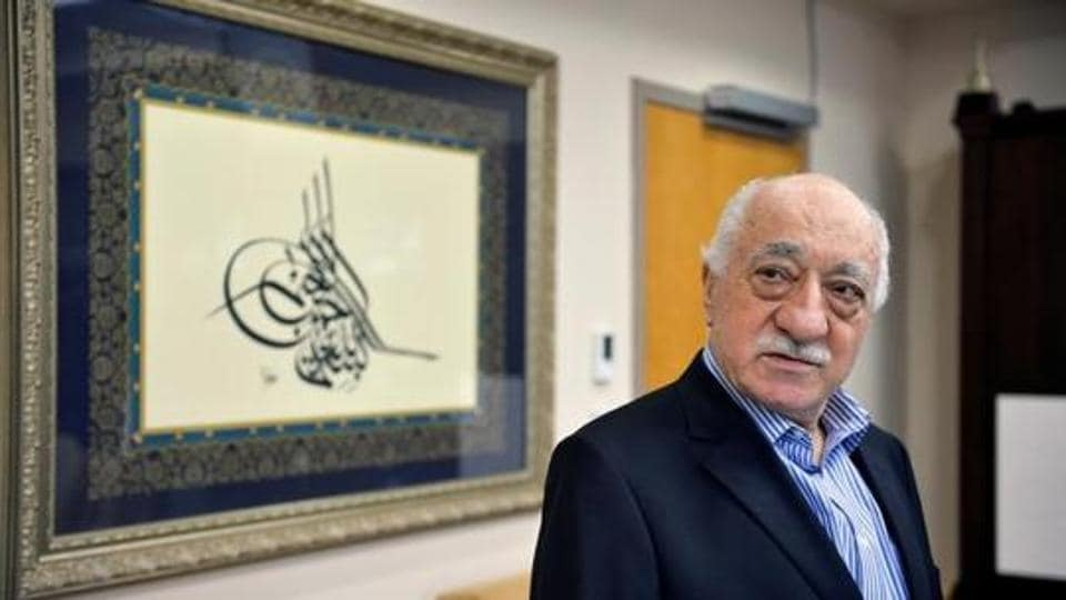 U.S. based cleric Fethullah Gulen at his home in Saylorsburg, Pennsylvania, U.S. July 29, 2016.