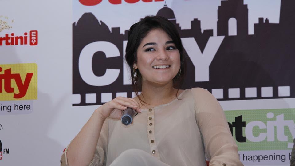 Zaira Wasim was noticed in Dangal.